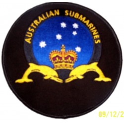 AUSSUB sew on patch